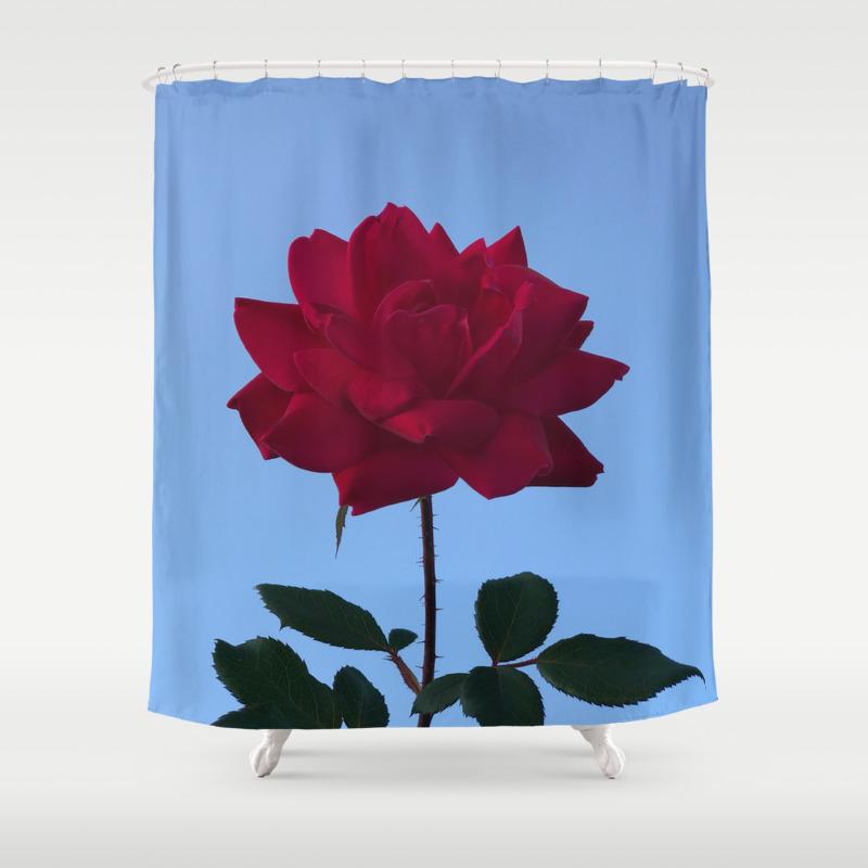 Vibrant Pink Shower Curtain by Julianbaham CTN7738816