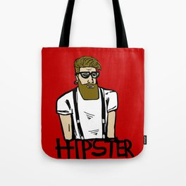 Hipster icon Tote Bag