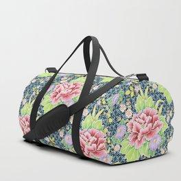 Kimono Bouquet Brocade Duffle Bag