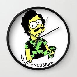 Pablo Escobart (Pablo Escobar parody) Wall Clock
