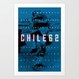 World Cup: Chile 1962 Art Print