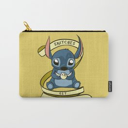 Snitches Get Stitches Carry-All Pouch