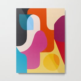Colorful and harmonic painting Metal Print