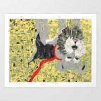 sassy Art Prints featuring Sassy by Becky Shelton