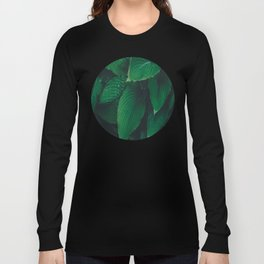 Moist Leaves Long Sleeve T-shirt