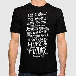 Jeremiah 29: 11 x Mustard T-shirt