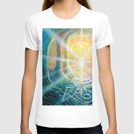 """Light Temple"" by Adam France T-shirt"