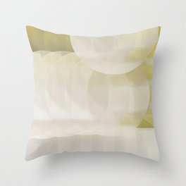 Mimosa in the Morning Throw Pillow