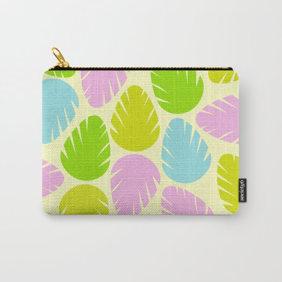 Colorful spring leaves Carry-All Pouch