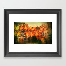 CHINATOWN / BOSTON. Framed Art Print