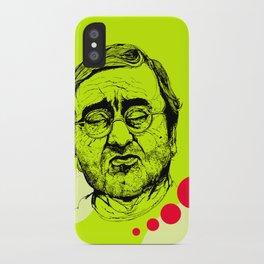Lucio Dalla iPhone Case