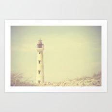 Tower Of Light Art Print