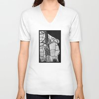 jazz V-neck T-shirts featuring Jazz by spinL