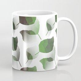 Tumbling Green Leaves Coffee Mug