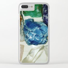 stone woman. Clear iPhone Case