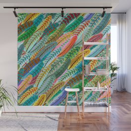 FEATHERS GALOR Wall Mural