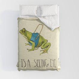 Seeing Eye Frog Comforters