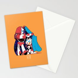 """Cover me into your own world"" Stationery Cards"