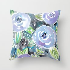 GARDENS OF MONTCLAIR Lavender Floral Throw Pillow