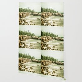 Acadia National Park Maine Rocky Beach Wallpaper