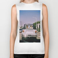 jeep Biker Tanks featuring Jeep by Warren Silveira + Stay Rustic