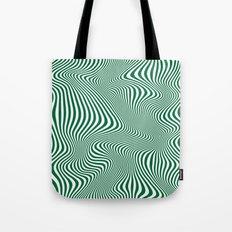DISTORTION GREEN Tote Bag