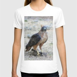 Red Tailed Hawk Catch T-shirt