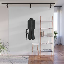 The Matix Outfit Minimal Sticker Wall Mural