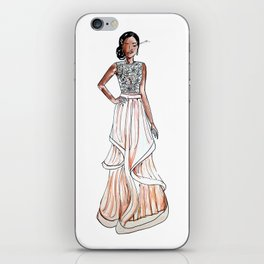 Prom Night (White Background) iPhone Skin