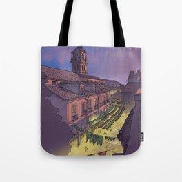 Medieval Fair (color) Tote Bag