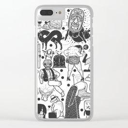 To el tintero entero - Underground comic characters Clear iPhone Case