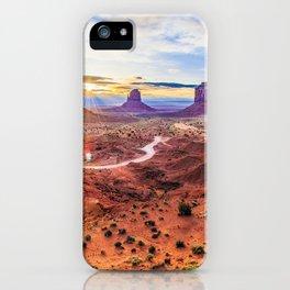 Monument Valley, Utah No. 2 iPhone Case