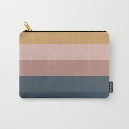 Minimal Retro Sunset - Neutral Carry-All Pouch