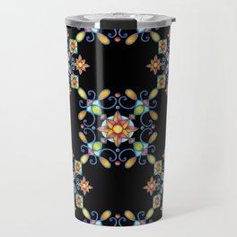 Ornamental Filigree Travel Mug