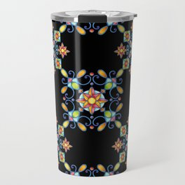 Ornamental Filigree Travel Mug