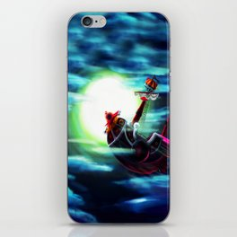 the sunny flaying iPhone Skin