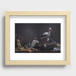 Barsel cover Recessed Framed Print