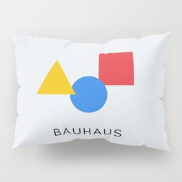 Bauhaus - Geometric Art Pillow Sham