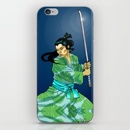Eternal Samurai I iPhone Skin