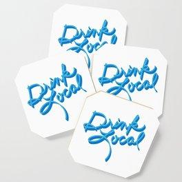 Drink Local - Handwritten Coaster