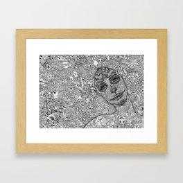 Viva La Muerte Framed Art Print