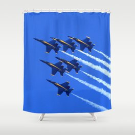 6 Angels Shower Curtain