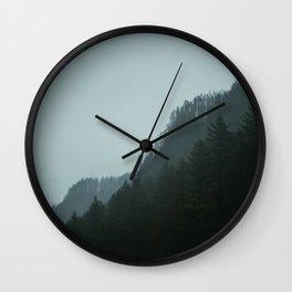 Pluviophile Wall Clock