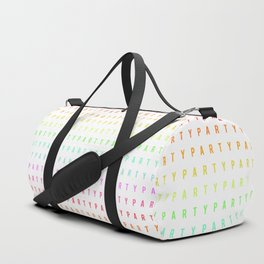 Party Pattern Duffle Bag