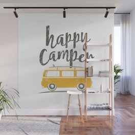 Happy Camper Wall Mural