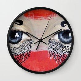 Tears Flow Wall Clock