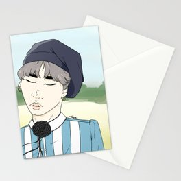 Yoongi - Young Forever Stationery Cards