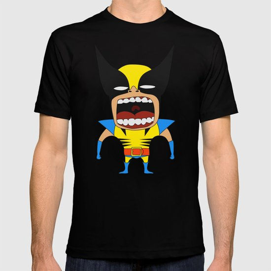 Screaming Wolverine T-shirt