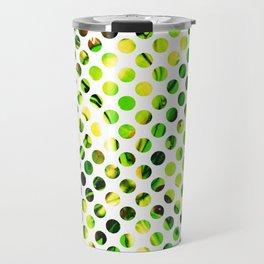 Fluid Dot (Green Version) Travel Mug