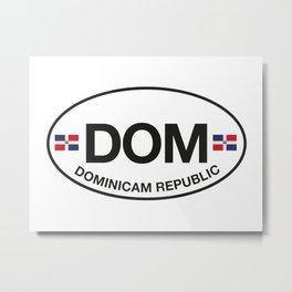 dominican republic Metal Print